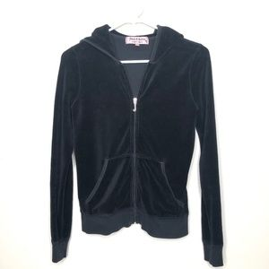 Juicy Couture Velvet Track Suit Hoodie